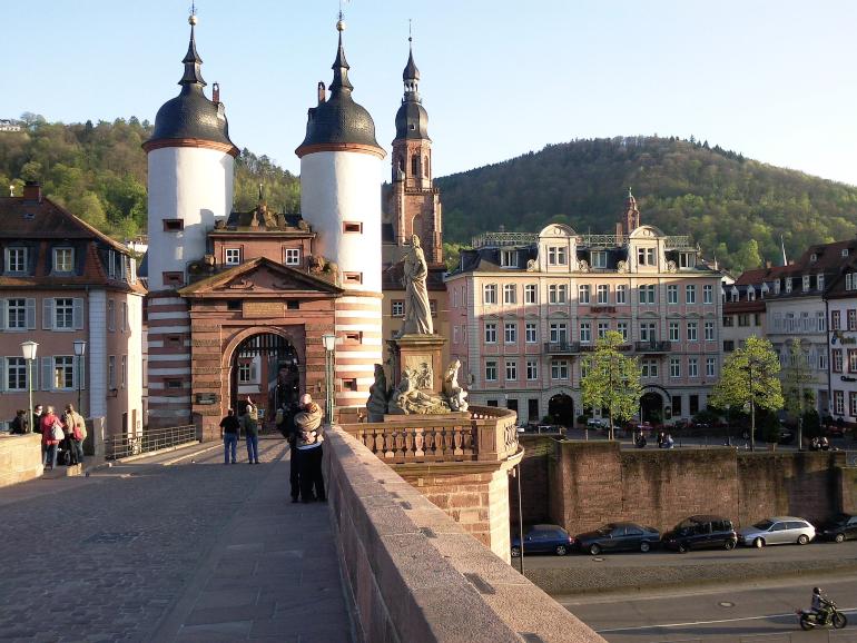 puente viejo de heidelberg