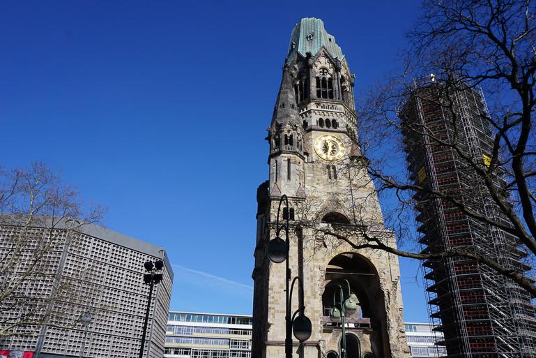 Iglesia-Kaiser-Wilhelm-berlin-en-un-fin-de-semana