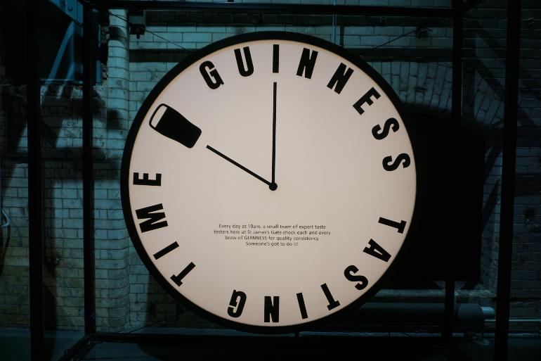 reloj de guinness