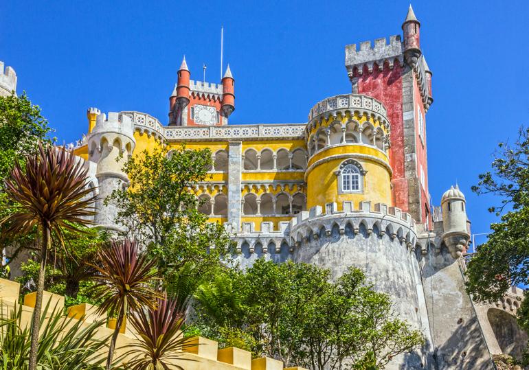colorido Palacio da Pena