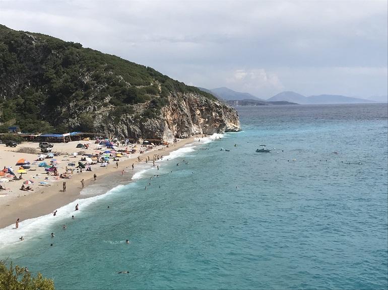 Playa de Albania