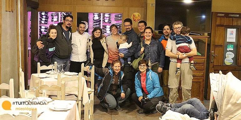 Blogueros en el restaurante Montecarlo