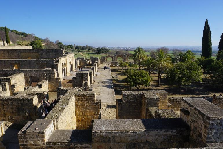 Vista de la medina azahara