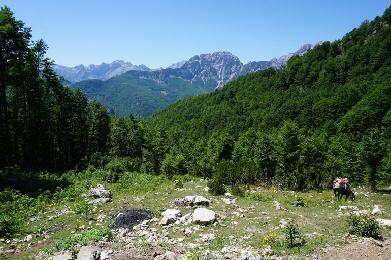 Trekking de Valbona a Theth