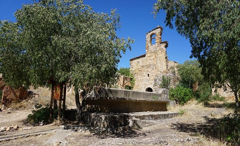 Ruinas de la iglesia de Finestres