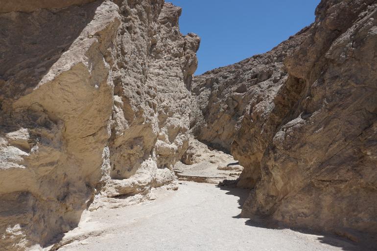 Golden Canyon en Death Valley