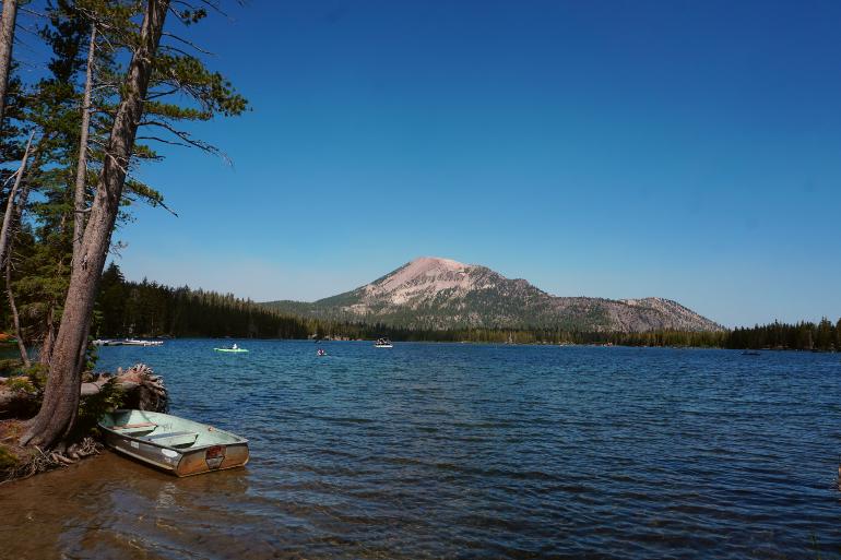 Lake Mary en Mammoth Lakes