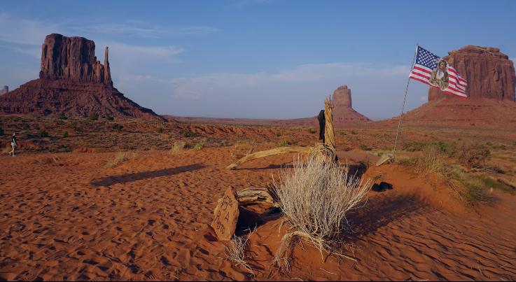Mítica imagen de Monument Valley