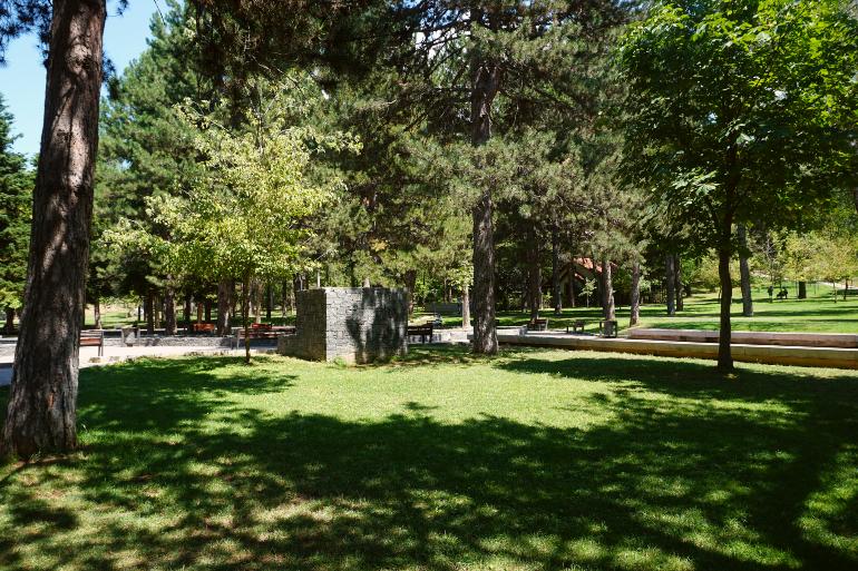 Parque Rinia en korcë
