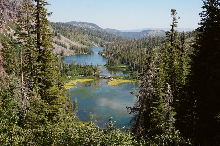 Twin Lakes en Mammoth Lakes