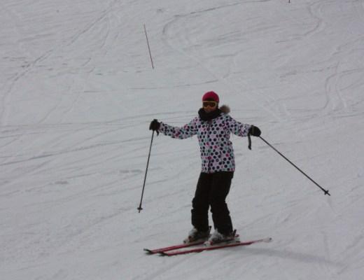 esquiando en saint-lary