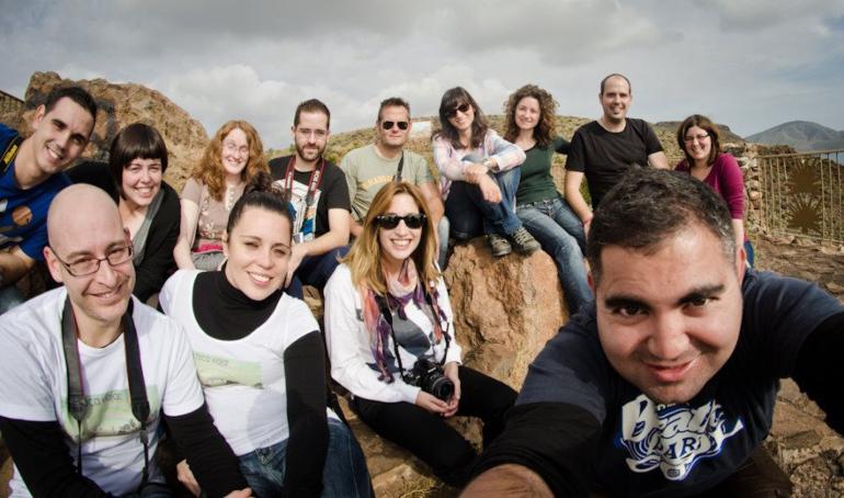 Los 13 blogueros del Gatatrip
