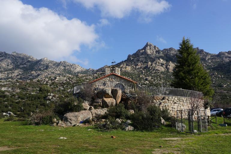 ermita de san isidro en el boalo