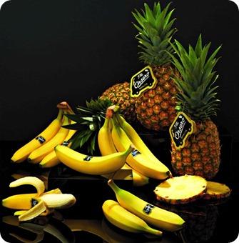 Orsero, piñas y bananas