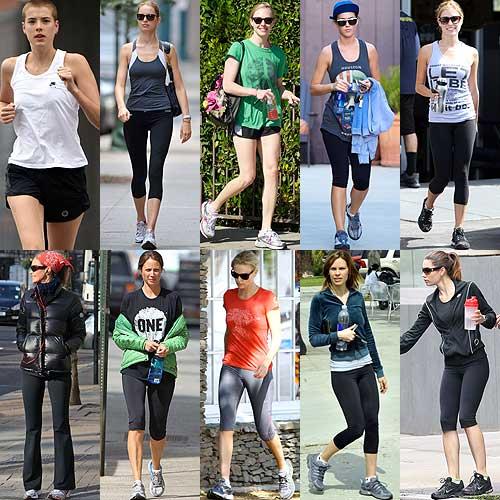 moda para el gimnasio