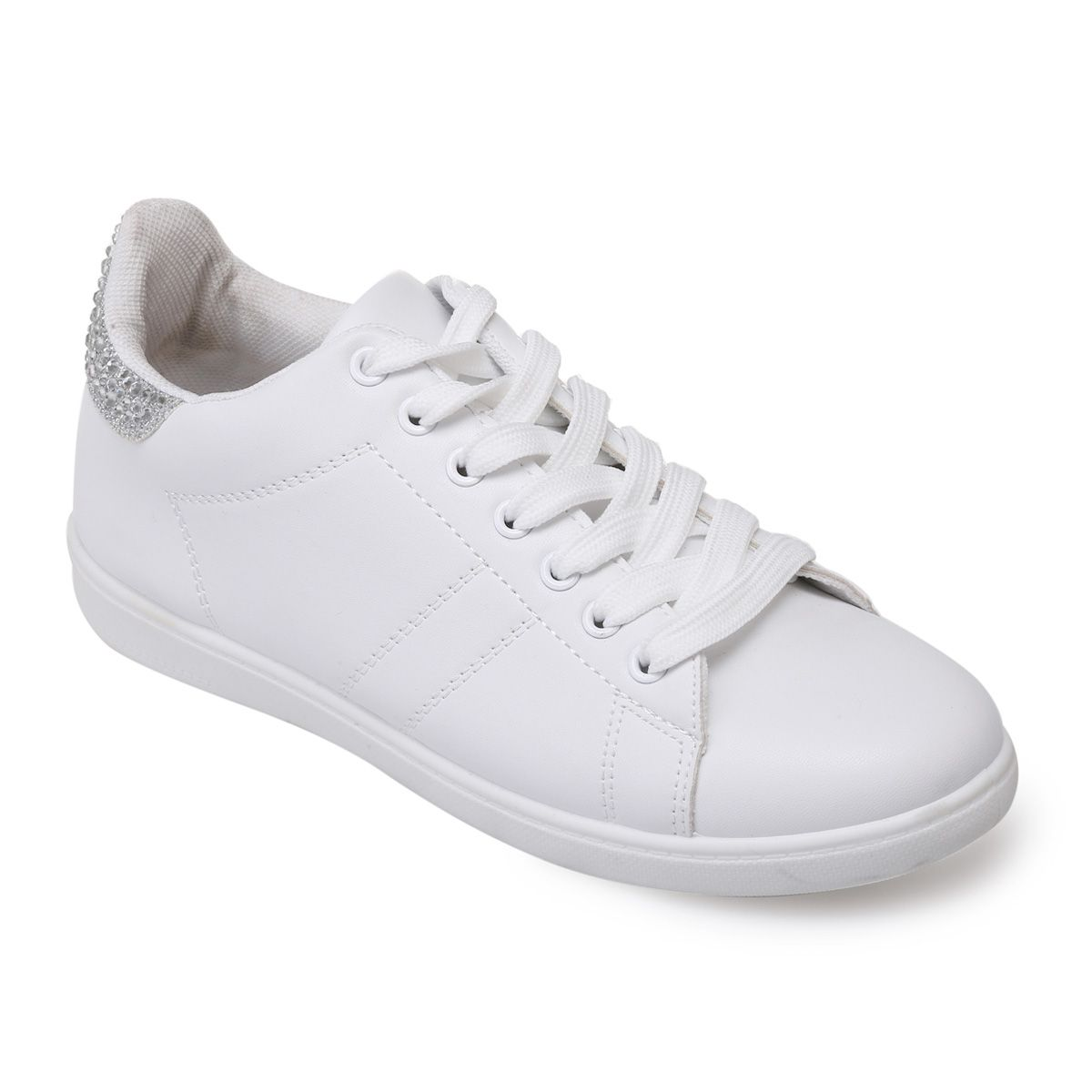 chaussures blanches femme