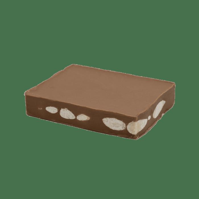 tocco milk gianduja with salted almonds