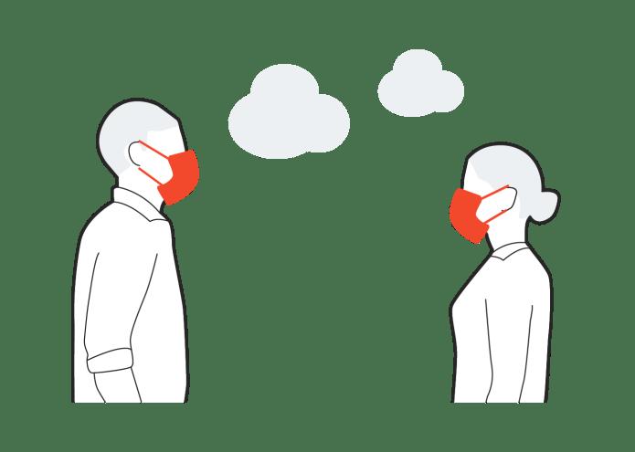 Uso de la mascarilla en la vía pública o espacios al aire libre