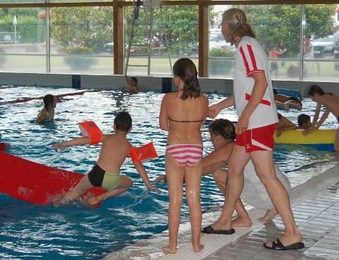 La piscine BatriceHess organise pendant tout lt des animations pour les jeunes nageurs