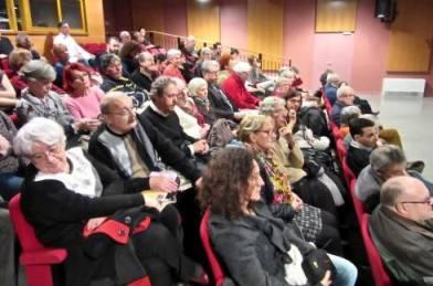 Un public très nombreux est venu écouter et débattre sur ce vaste sujet proposé par Espaces Marx. - Queuille Roger