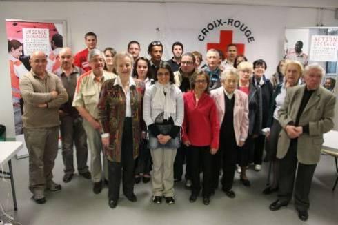 La Croix-Rouge peut compter sur ses bénévoles pour remplir ses nombreuses missions.