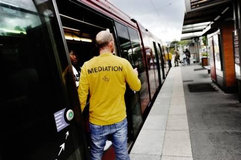 Illustration mediation T2C tramway Clermont, photos : camille mazoyer - Camille Mazoyer