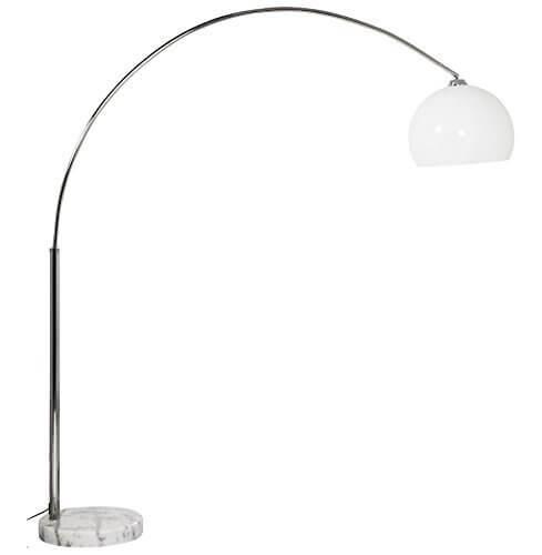 Lampadaire Arc Ikea Modèle Design En Métal Et Tissu
