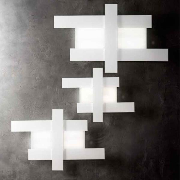 Plafoniera moderna a Led DOHA di Gea Luce