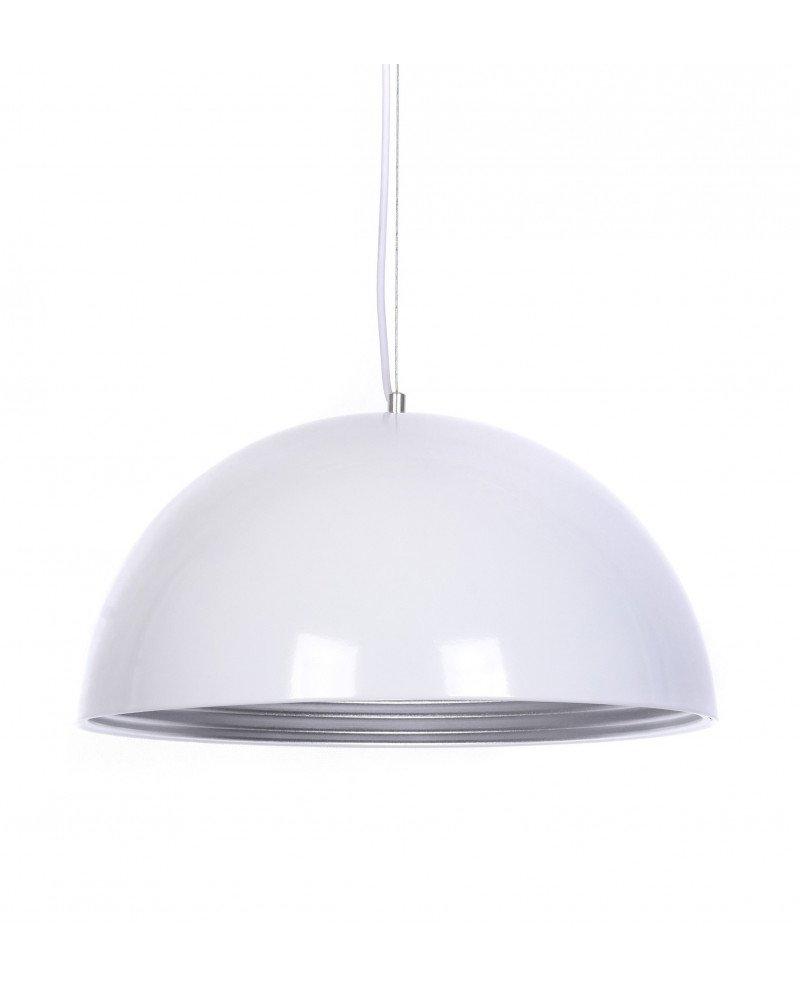 lampada a sospensione design colore bianco lucido
