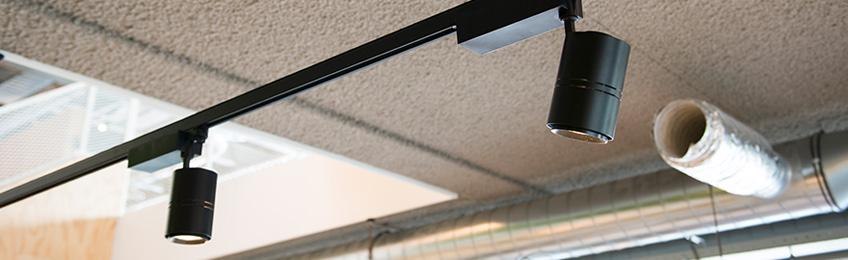 rail lighting for in the garage