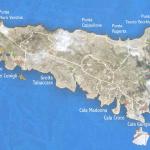 Lampedusa Cartina Turistica