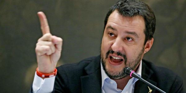 """Matteo Salvini: """"Sabato a Lampedusa simbolo dei fallimenti Ue"""""""