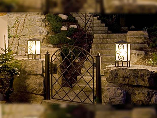Tipps zur Beleuchtung im Garten  Lampen und Licht Design