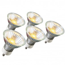 set van 5 halogeenlampen