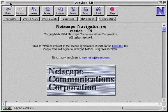 Netscape 1.0