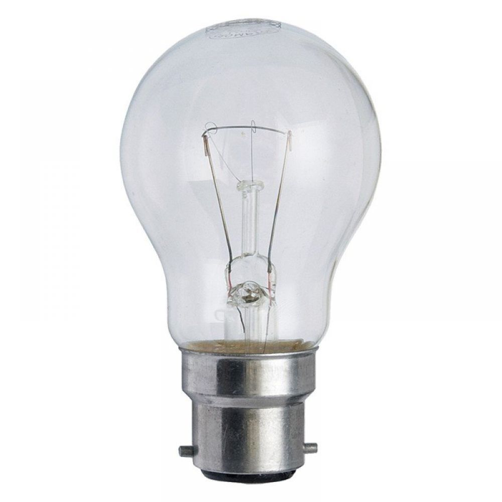 Clear 60 Watt Light Bulbs