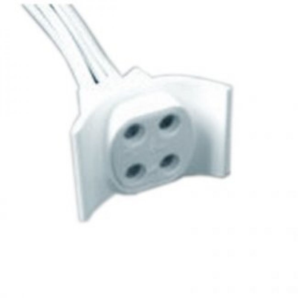 fluorescent light holder throat diagram front view 4 pin g10q lamp for circular tubes click image to zoom
