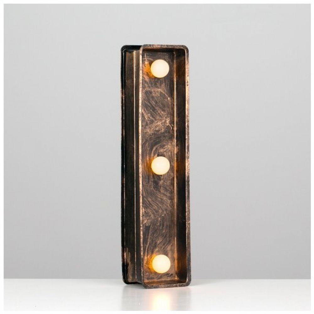 Battery Powered LED Light Up Alphabet Letter I