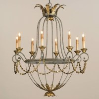 Currey and Company 9948 Elegance Eight Light Chandelier