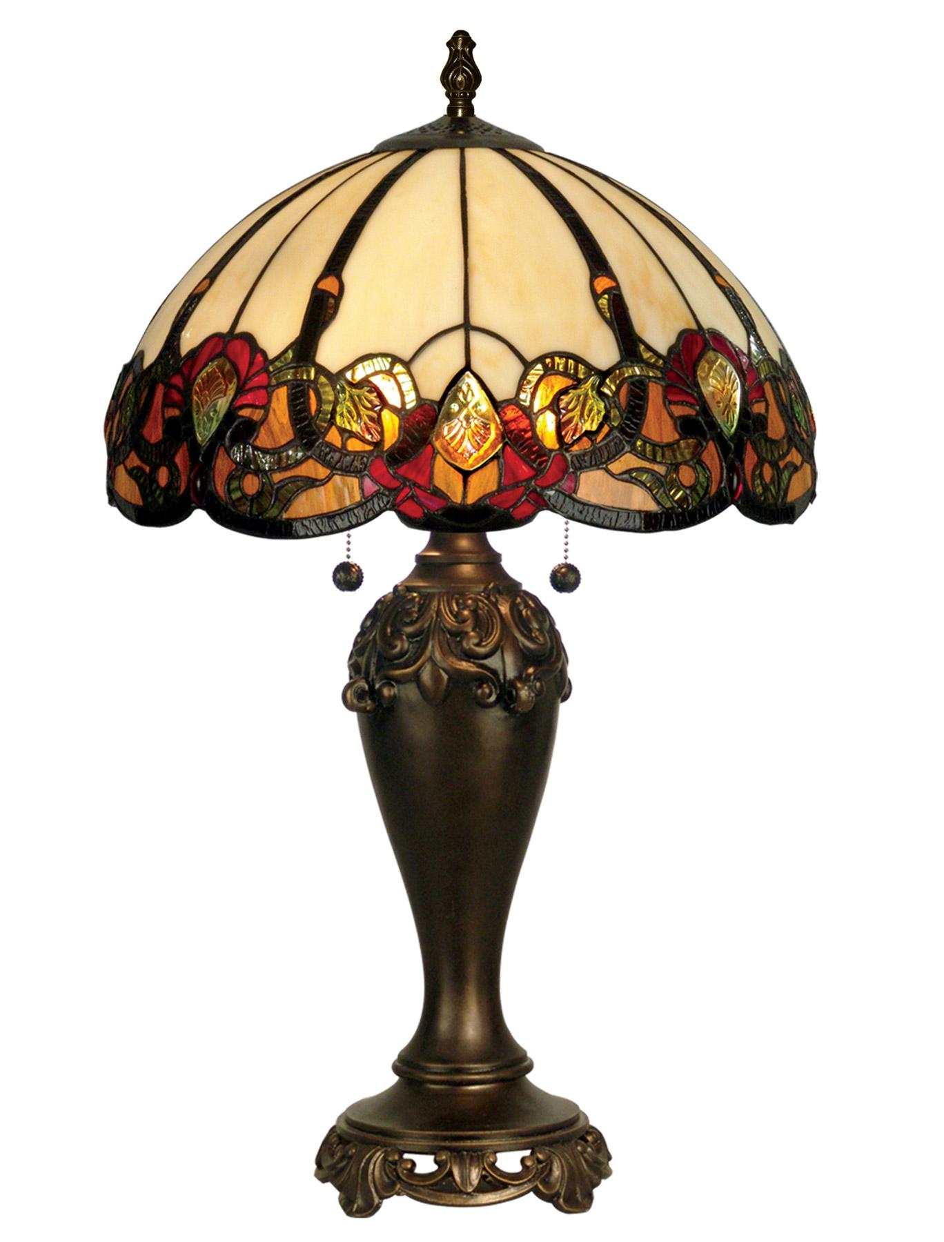 Dale Tiffany TT90235 Tiffany Northlake Table Lamp