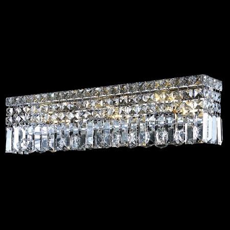 Elegant Lighting 2032W26CEC Crystal Maxime 26 In Vanity