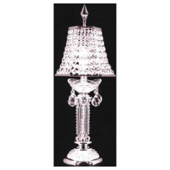 Mini Pendant Lights For Kitchen Budget Remodel James R. Moder 94113s22-88 Crystal Princess Table Lamp