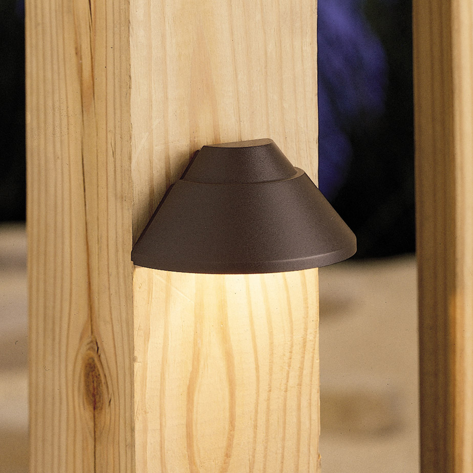 Kichler 15165AZ Outdoor 12V Mini Deck Light