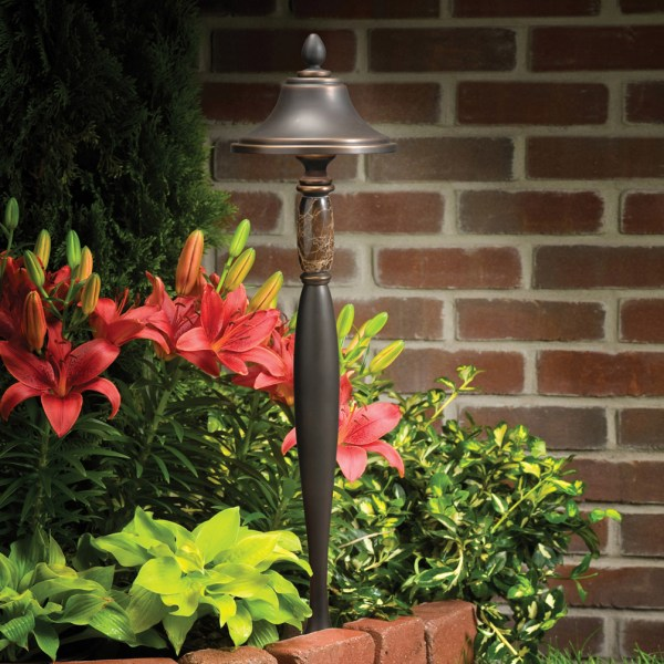 Kichler 15447oz Aries Manor 12v Landscape Path Light