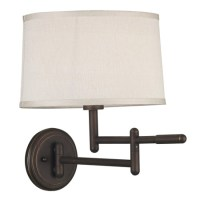 Kenroy Home 20942CB Theta Swing Arm Wall Lamp