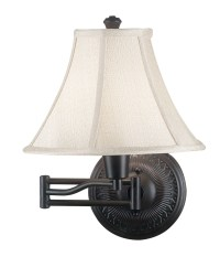 Kenroy Home 21395ORB Amherst Swing Arm Wall Lamp