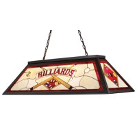 Elk Lighting 70053-4 Tiffany Stained Glass Pool Table Light