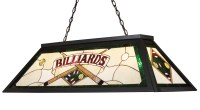 Elk Lighting 70083-4 Tiffany Stained Glass Pool Table Light