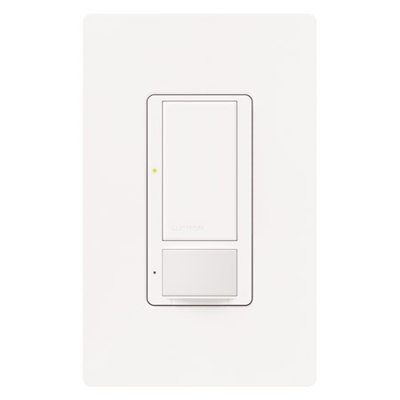 Lutron MS-OPS2-WH Maestro 120V/2A Single Pole Digital