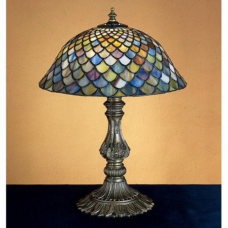 Meyda 26673 Tiffany Fishscale Accent Lamp